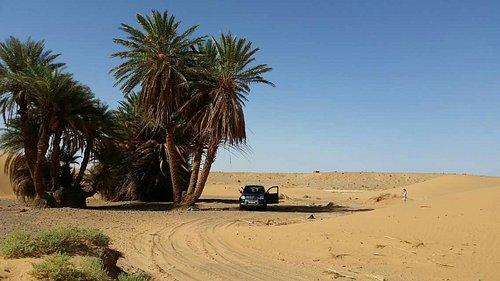 Ruta en el desierto