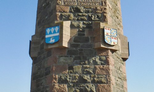 The Battle of Harlaw Monument.