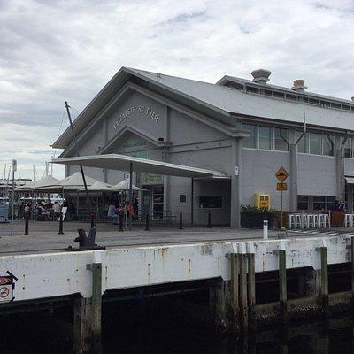Elizabeth Street Pier.