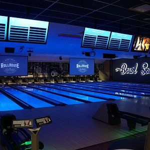 Upscale Bowling Lanes - State-of-the-Art Lighting and Sound