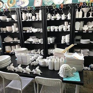 We have over 250 pottery pieces to choose from!