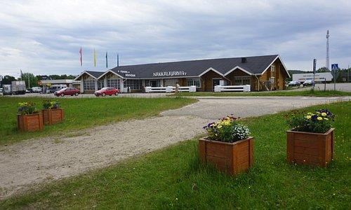 Lahjatalo Näkkäläjärvi, Inari
