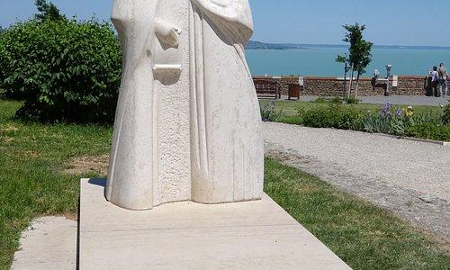 socha krále Ondřeje a královny Anastízie