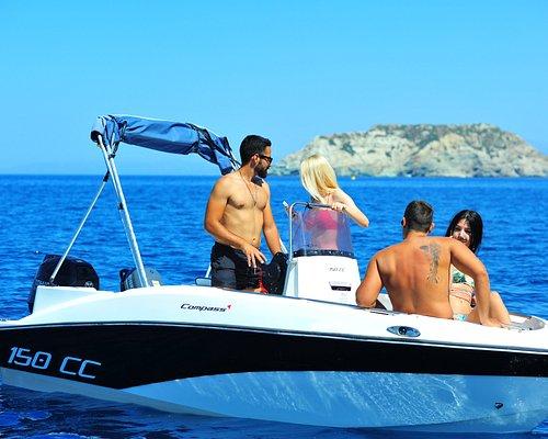 Captain Experience, Crete Boats, Agia Pelagia, Psaromoura Beach, Boat Rentals, Rent a Boat, Cret