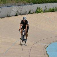 Zelf op de baan na een editie voor wielertoeristen