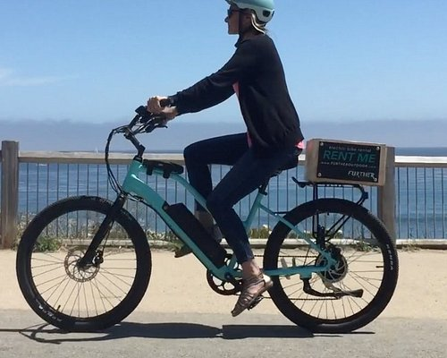 Explore Santa Cruz with one of our Juiced Electric bikes. 500w motors allow you to get up to 23m