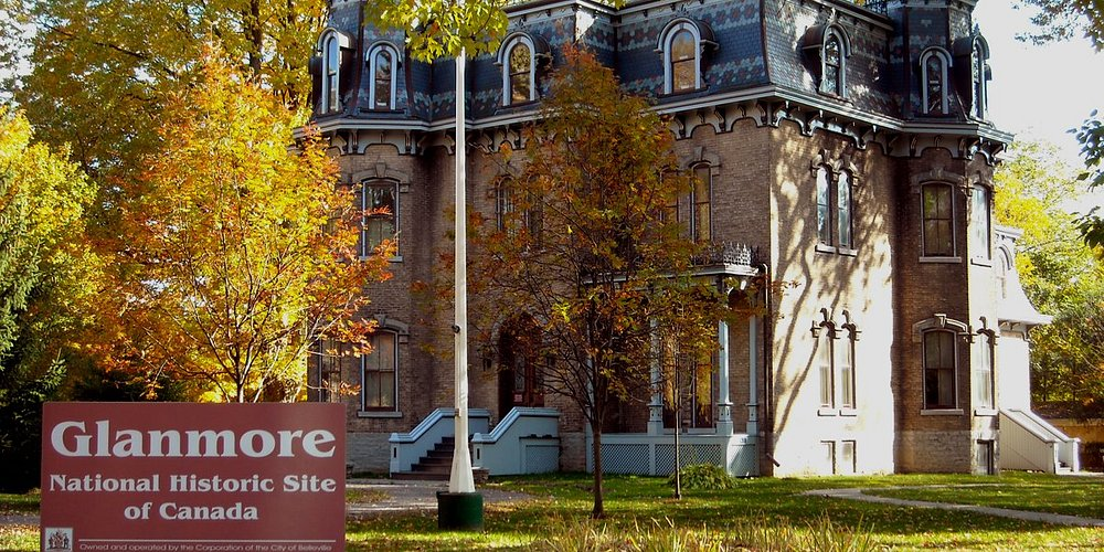 This grand Victorian mansion exhibits original artifacts that are significant to local history