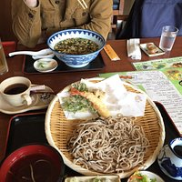 Western Seating with Soba and soup