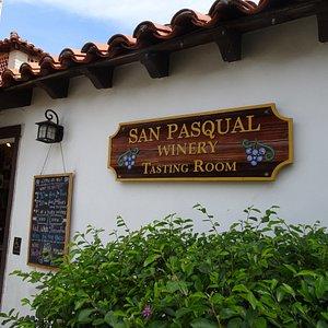 The winery tasting room