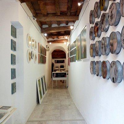La Galleria d'arte più piccola del mondo.