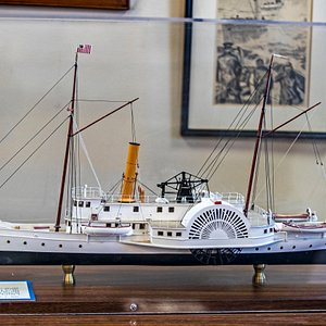 Lots of miniature replicas of ships.