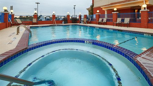 Outdoor Swimming Pool and Hot Tub
