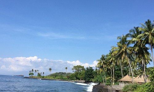 Jasri Beach, the hidden beach in Karangasem Bali.