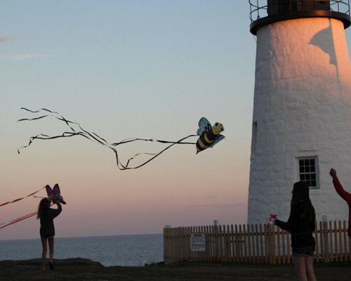 Sunset at Pemaquid Point. The place is magical.