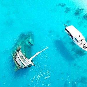 Keyodhoo shipwreck visit