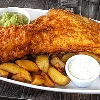 Fish and chips. Our specialty.