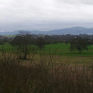 The Ketch Viewpoint from which you can see the entire range of the Malvern Hills