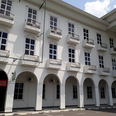 Building entrance into Borneo House Museum