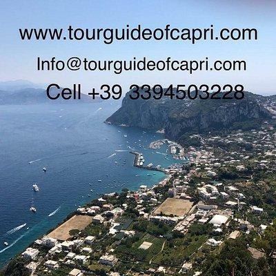 Tour guide of capri