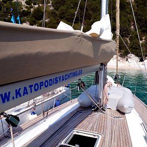 KATOPODIS YACHTING IN ACTION