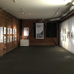 March: A Graphic History of the Civil Rights Movement exhibition