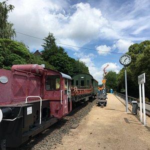 Station Pronsfeld in 5 minuten gezien!