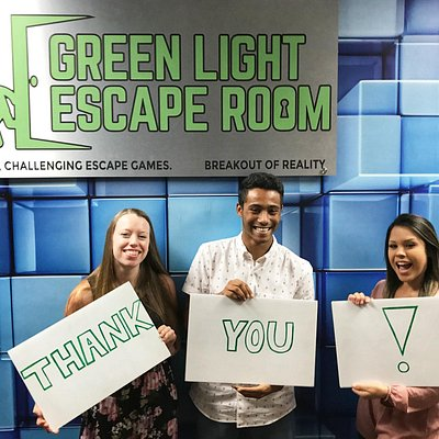 Thanks for visiting Green Light Escape Room