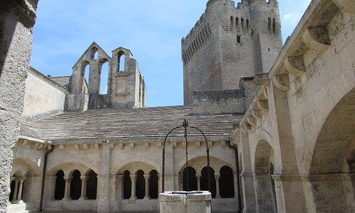 la Tour vue du cloître