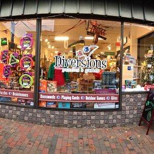 Diversions Store Front