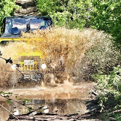 Hummer mud splash