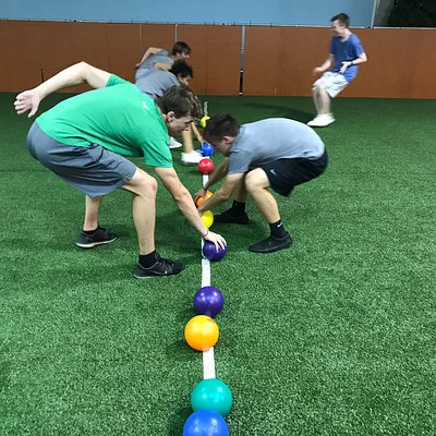 Knockerball N' Ninjas, Indoor fun for kids and families and great for birthday parties!