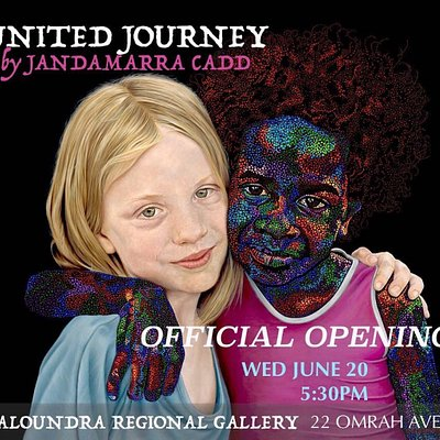 Current exhibition United Journeys.  June 21 through to August 12.   A n interactive and joyful