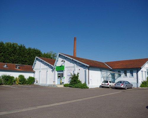 L'usine du Coulmier, depuis 1783, reconstruite après la guerre. Elle se visite toute l'année !