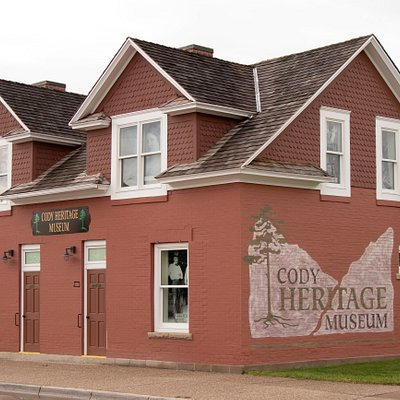 The Cody Heritage Museum, located in the historic DeMaris House (1909) in downtown Cody, WY.