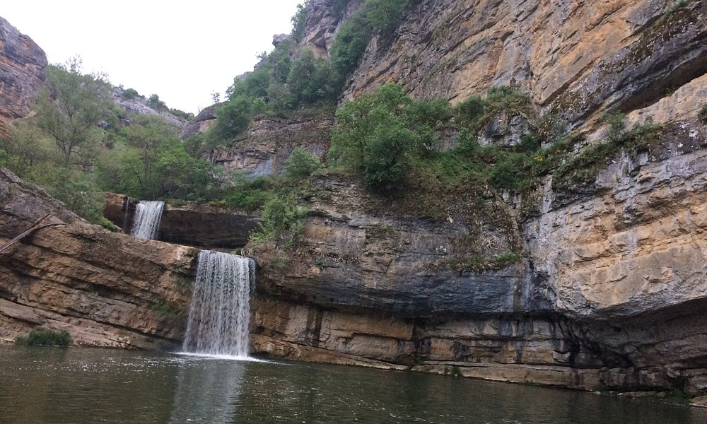 Mirusha Waterfalls is a chain of waterfalls found in the Mirusha River, situated on the south of