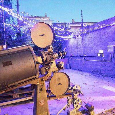 Le Simplexe, cinema de plein air en Corse