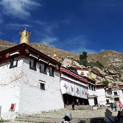 at Sera Monastery