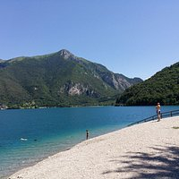 Magnificent view of Lago di Ledro