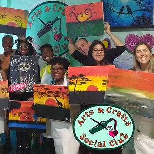 Painting parties are fun for any occasion!
