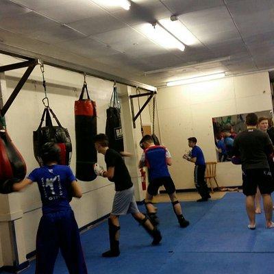 Cleveland kickboxing gym