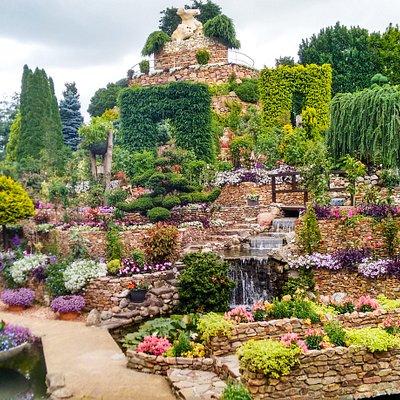 Geaccentueerde tuin
