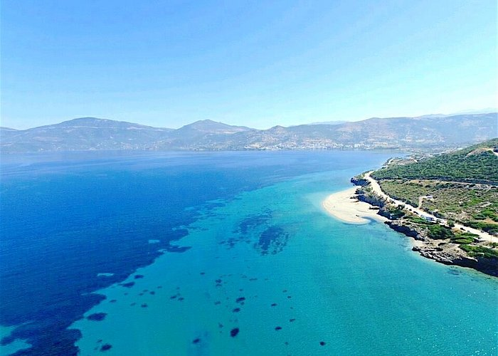 Our beautiful Marmari Surf Club from above
