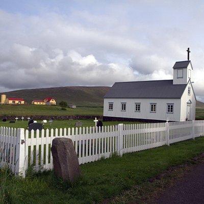 Grenjadarstadir church