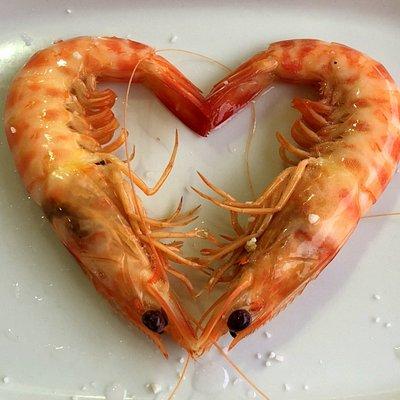 We love langostinos!