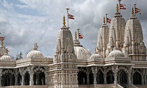 Shri Swaminarayan Mandir Temple in Stafford, Texas (suburban Houston)