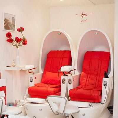 Atelier de l'Ongle - Pedi SPA - Massage chairs