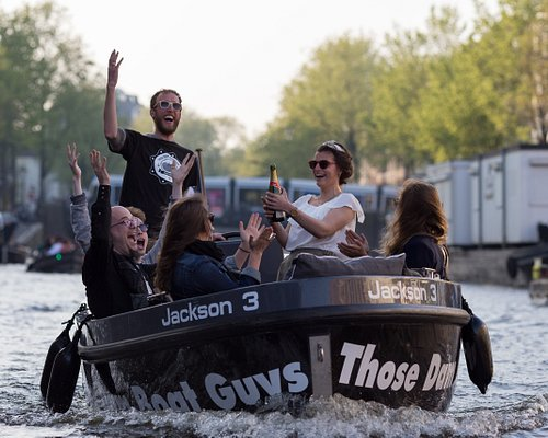 Champagne Celebration on the canals!