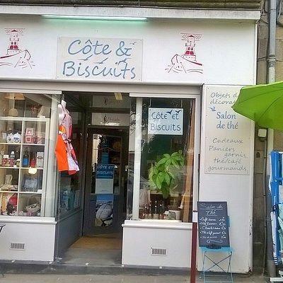 Côte et Biscuits vous accueille au 8 rue Anatole France du  mardi au samedi de 10h -12h30 et 14h