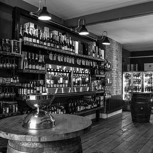 Bar and Shop area at Loki Wine Merchant & Deli Edgbaston