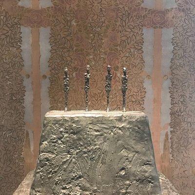 L'Institut Alberto Giacometti a ouvert dans un écrin de beauté.